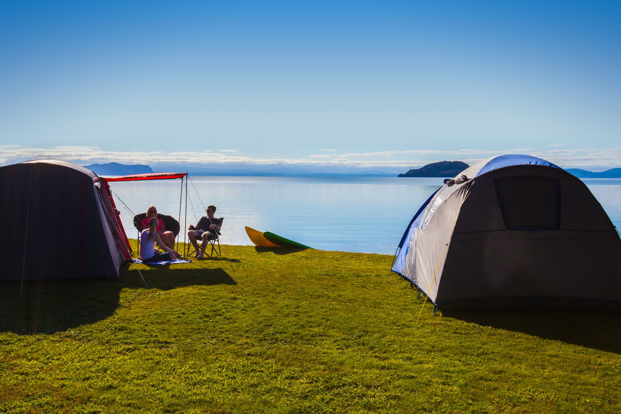 holiday park in Lake Taupo
