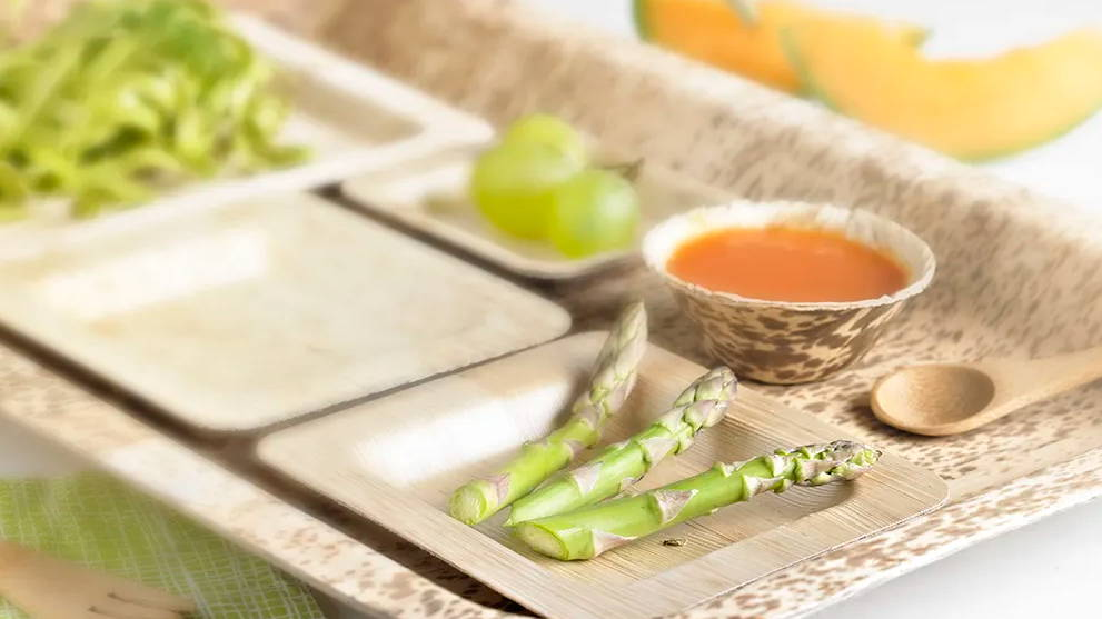 Enjoy Using The Bamboo Mini-Dishes